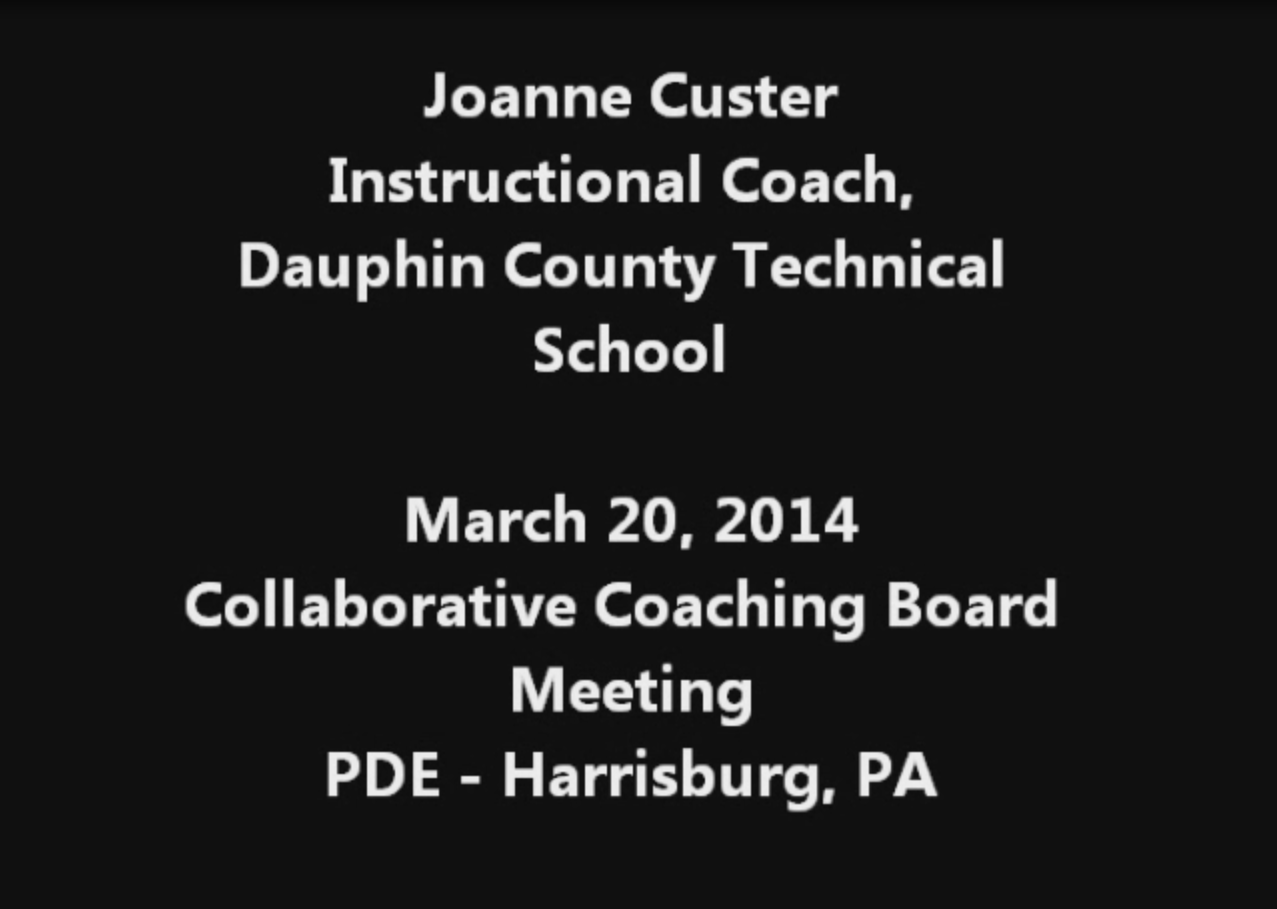 Videos on Instructional Coaching